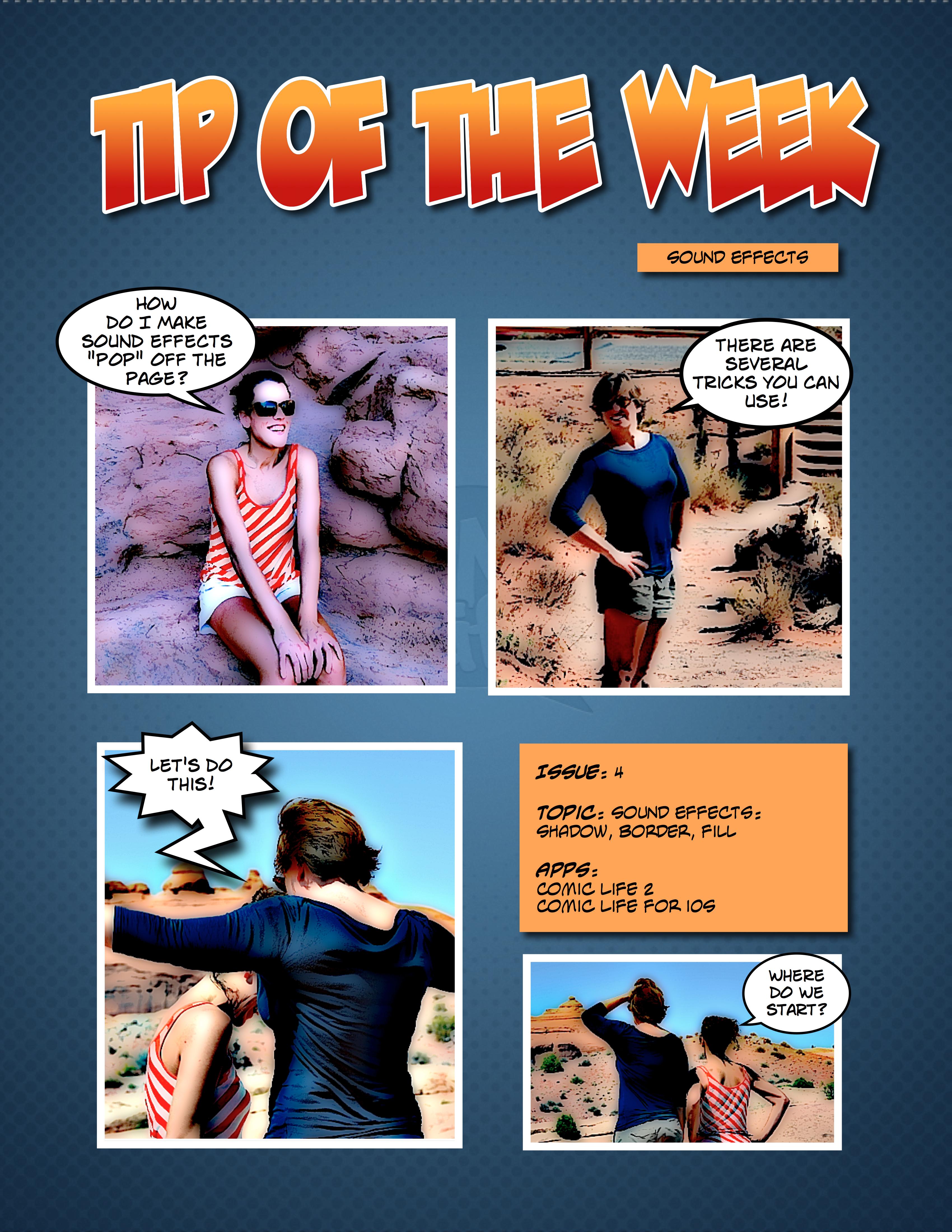 Tip of The Week: Sound Effects | plasq com