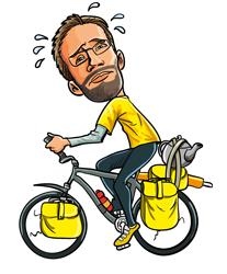 Fredrick on Cycle