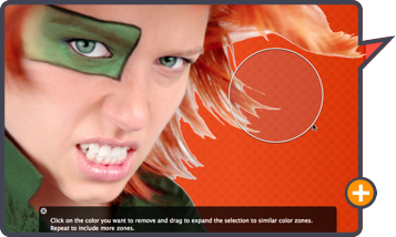 Comic Life 3 by plasq: Easy to use Instant Alpha to knock out backgrounds.