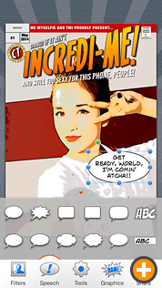 Comic Touch by plasq: Speech balloons and captions!