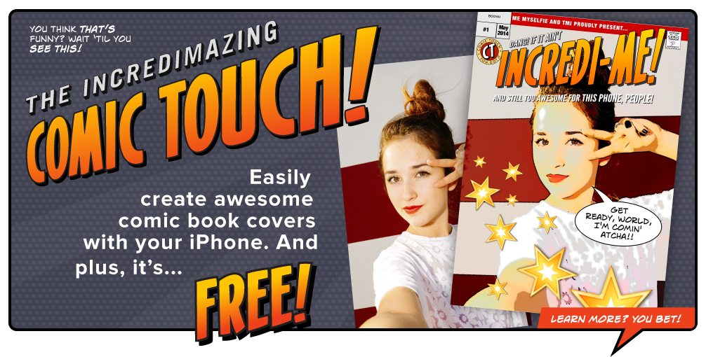 Get Plasq's free Comic Touch