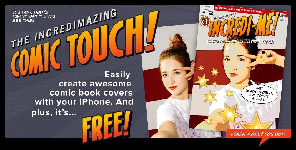 Get Plasq's free Comic Touch