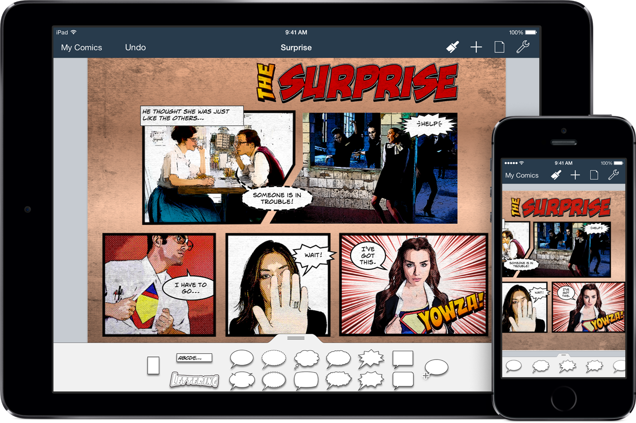 Comic Life 3 for iPad and iPhone | plasq com