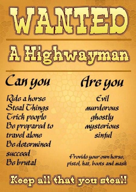 Highway man 1