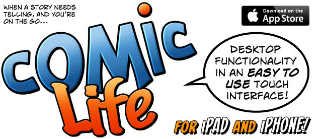 Comic Life 3 for iPad and iPhone