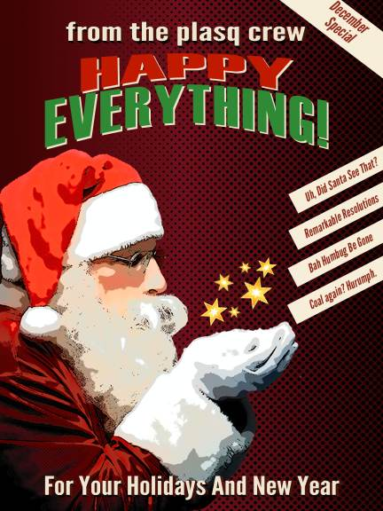 plasq Holiday Card