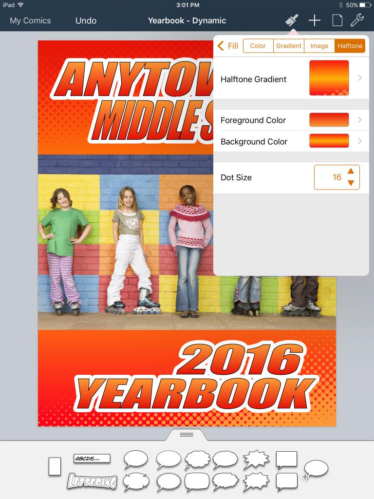 Yearbook halftone inspector