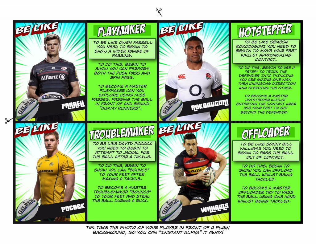 Rugby Trading Cards