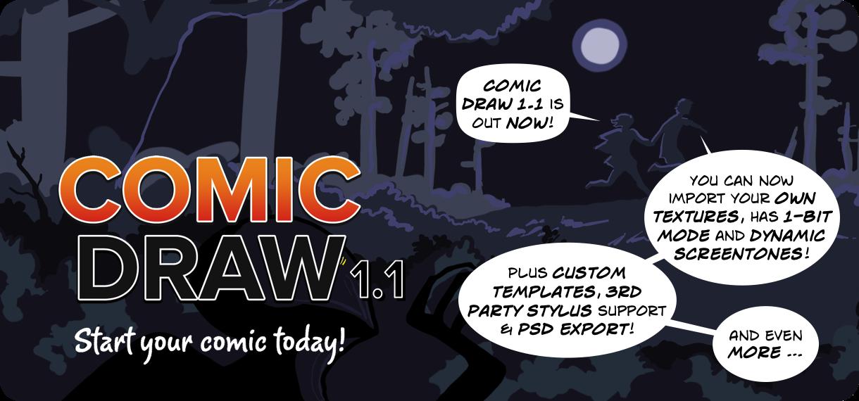 Comic Draw & Comic Connect 1 1 Updates Released! | plasq com