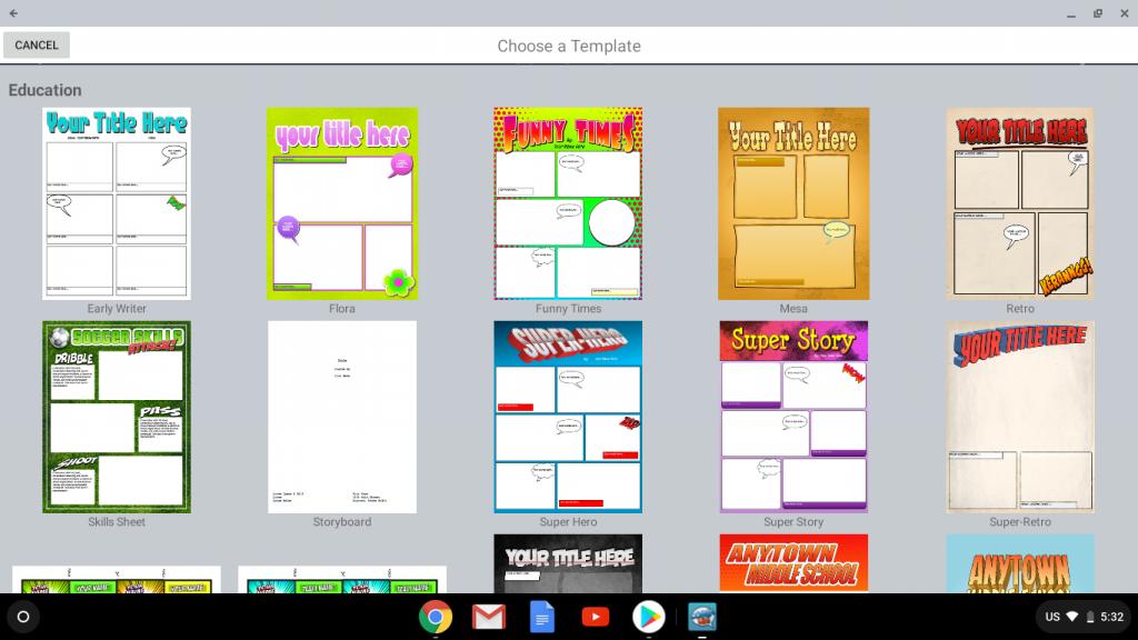 Comic Life 3 beta available on Chromebooks!   plasq com
