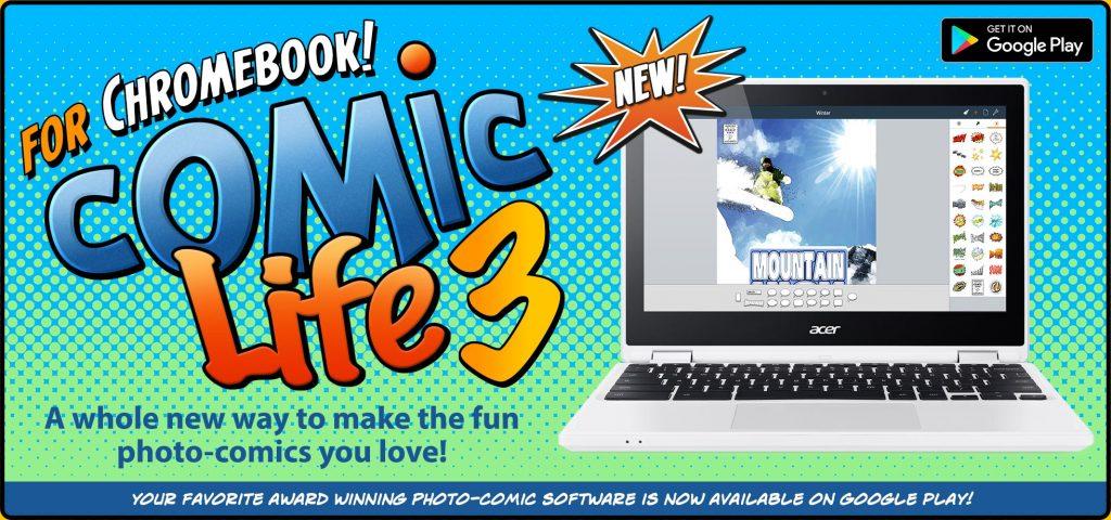 Comic Life 3 5 1 for Chromebook Update Released!   plasq com