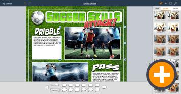 Comic Life Chromebook Skills Sheet
